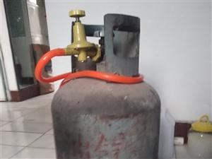 家用煤气罐+半罐气50元