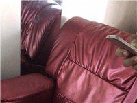 二手沙发,靠背可以放倒