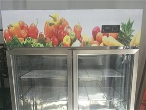 双门冷藏柜,菜店自用有七成新,现菜店关门便宜处理。