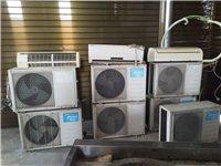 大量二手美的空调出售,1.5P,包安装,质保一年,可以单台出售。