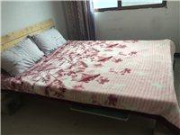 一个1.5米的大床,150元出售。自提!