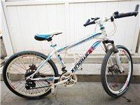 便宜处理变速山地自行车,八九成新,2百元不议价,有需要的欢迎联系