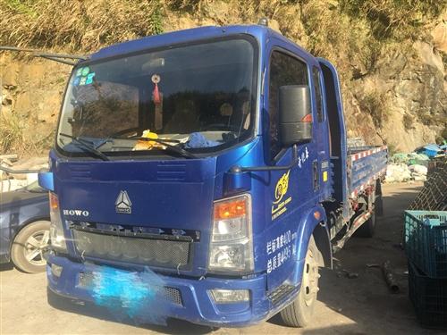 本人因停廠.低價轉讓中國重汽3.8米平板貨車一輛。剛換的兩新胎,保險還有半年多到期。一口價2.6萬包...