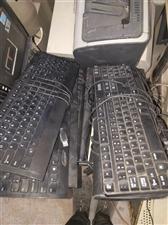 出售办公电脑显示屏,键盘!复印打印一体机!有需要的联系,显示屏60元,键盘15元!要的联系!