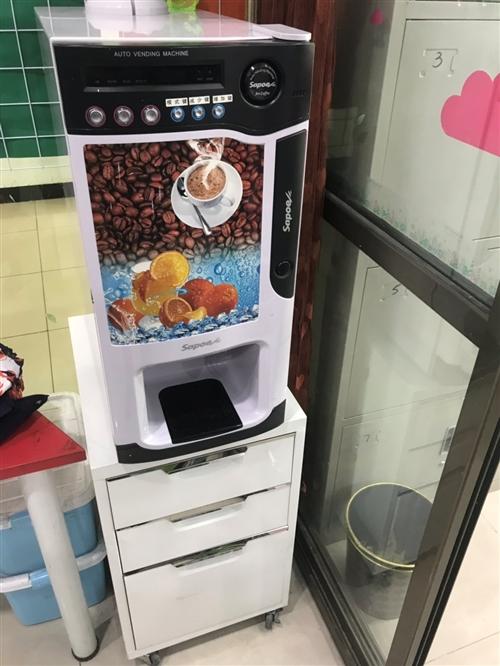 95成新新诺冷热速溶咖啡、奶茶、饮料一体机.长期闲置,现低价出售.适合餐厅,办公室等使用,欢迎骚扰,...