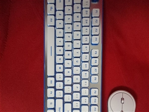 无线可充电机械键盘鼠标一套新的