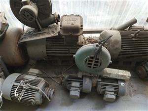 原包电机,螺杆泵,鼓风机,起动柜……