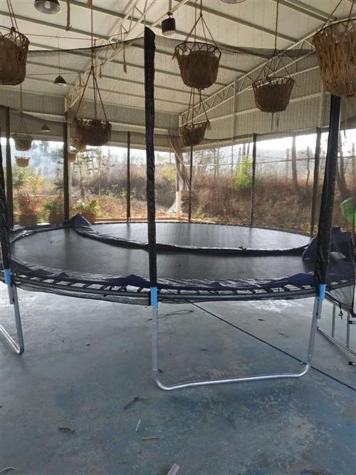 建水5米大跳床兒童滑梯