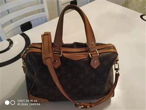 正版 LV路易威登老花款手提单肩包 正版包包,识货的来