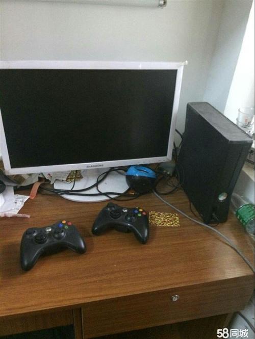 开阳本地出一台二手xbox360   256g破解   可任意下载游戏  附两个手柄