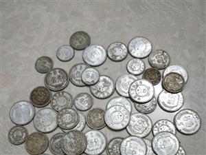 老款五分钱货币我也不知道值不值钱