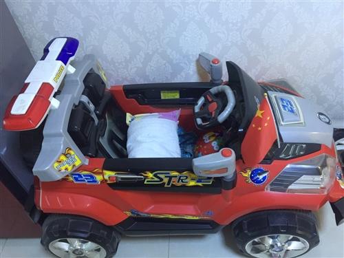 現有一輛九成新兒童電動汽車,可遙控可自己開,適合2至8歲孩子,買回來孩子不坐所以一直閑置,車況良好,...