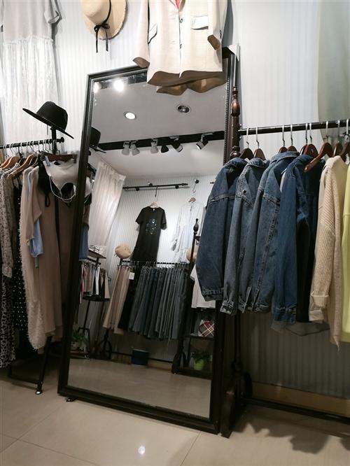 服裝店升級,九成新試衣鏡低價出售,價格面議。聯系電話:13458908900