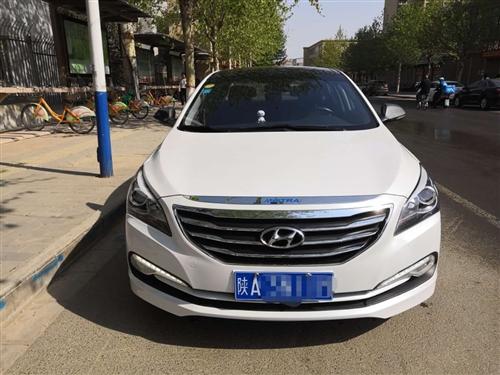 出售2015年8月份上牌的北京现代名图轿车一辆,1.8排量,配置高:全景天窗定速巡航大屏导航等等。跑...