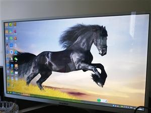自用32寸高清显示器(带屏幕保护)出售,非诚勿扰