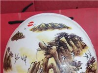 鸵鸟蛋壳雕刻工艺品  高档礼盒    手工绘画雕刻
