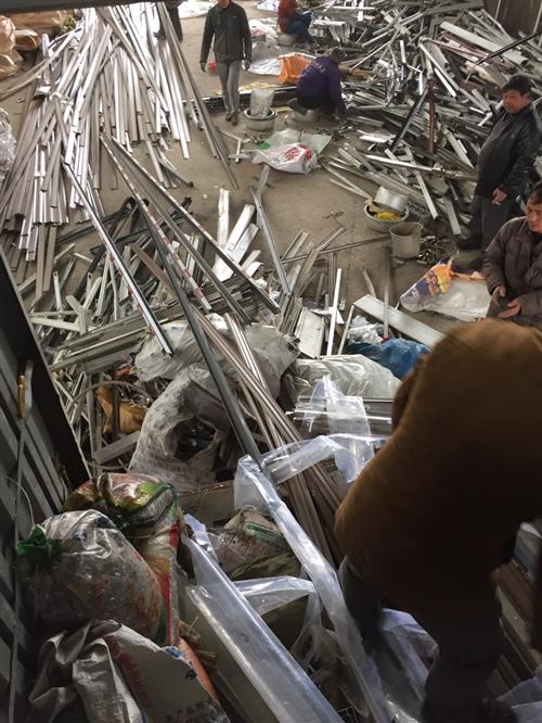 大量回收 公司廢料。銅鋁鋼 鋁絲 電機電纜 現金交易