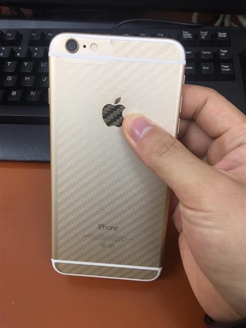 苹果6 Plus 64G 土豪金,所有功能齐全正常!9成新,因换了新手机,低价转让!我在寻乌县,需要...