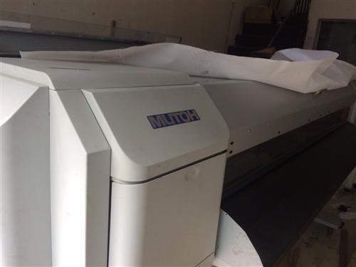 池州市貴池區站前區有一臺七成新武藤水性寫真機出售。(不含噴頭)