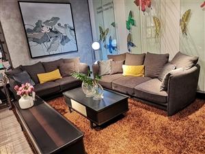 抵账全新大品牌沙发处理,品质有保证。原价16810??,处理价8500??,酒嘉免费送货上门!电话:...