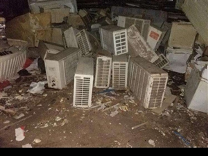 专业回收废旧空调,机器设备,