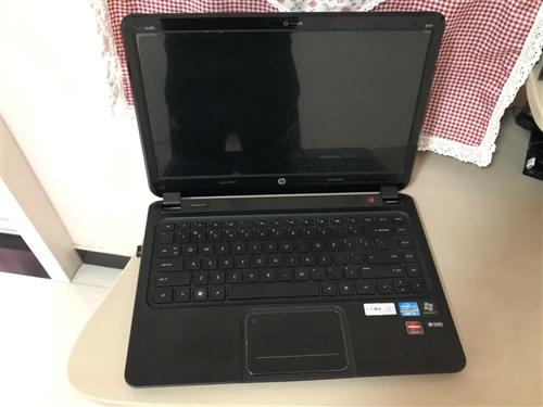 个人自用惠普envy4-1039tx系列笔记本 I3处理器,32固态+500G硬盘组合,独立显卡,屏...