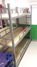 学生睡觉用三层床,用了三个月。一共22组,可拆卸,买的时候400多一组,现折旧处理