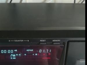 售索尼中高端磁带卡座机一台,功能正常,价格面议,试机面交