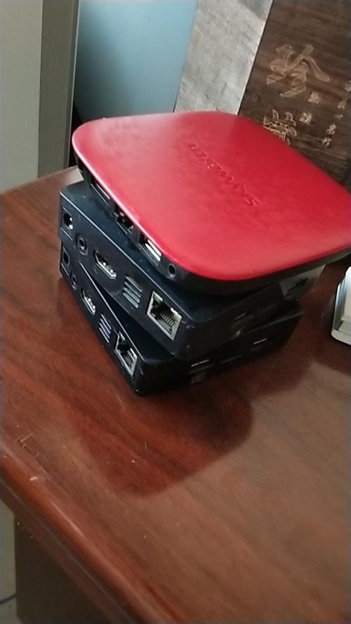 机顶盒走势图 两个常规的,一个微信群发的 价格一个100 不包邮