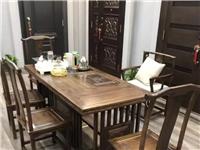 求购功夫茶具一套,要有桌子椅子的。茶几的也可以