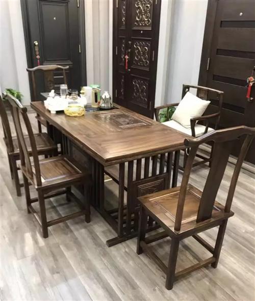 求购功夫茶具一套,包含桌子椅子,茶几的?#37096;?#20197;