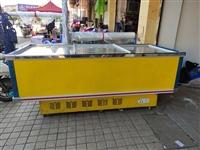 雪村冰柜1.8米单机卧式岛柜超市展示柜商用冷藏冷冻保鲜柜速冻柜,八成新,可冷冻,可保鲜