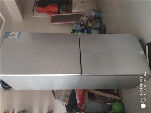 刚买了一年的冰箱,搬家后没地方放,现便宜处理,价格看的给