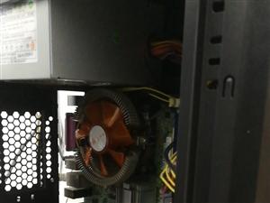 出最后几台电脑主机巅峰p43大板,4核Q9300cpu秒i3.。4g内存,60g.固态内存。带独显!...