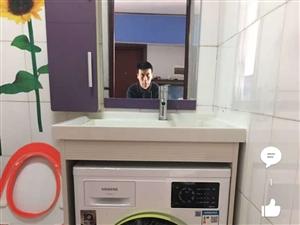 洗衣机台上盆很适合放在阳台!高108cm全新刚到,家里放不下
