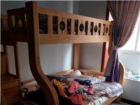子母床,没有任何划痕,实木