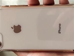 苹果8手机9.9新国行金色64G,电池容量100%,使用1个月,无任何磕碰,质保11个月,价格面议诚...