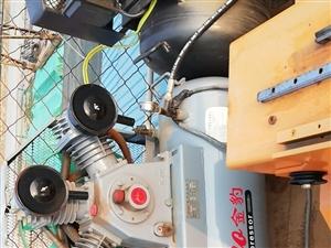转让几乎没用过1.6立方和1.0立方两台(3mpa)空压机,还有压力罐一套,