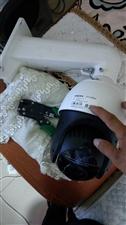 海康威视云台摄像头,99新一次没用过。