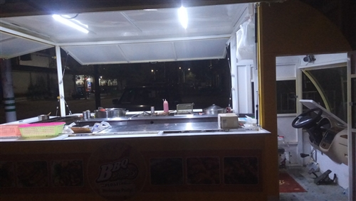 流动餐车可做烧烤,早餐,麻辣烫,炸串,带技术转让