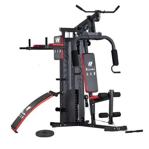 為爾康家庭健身器材長一米八寬一米五,九成新,如圖雙杠,健腹板,沙袋,上拉,下拉全部一體,要的代價