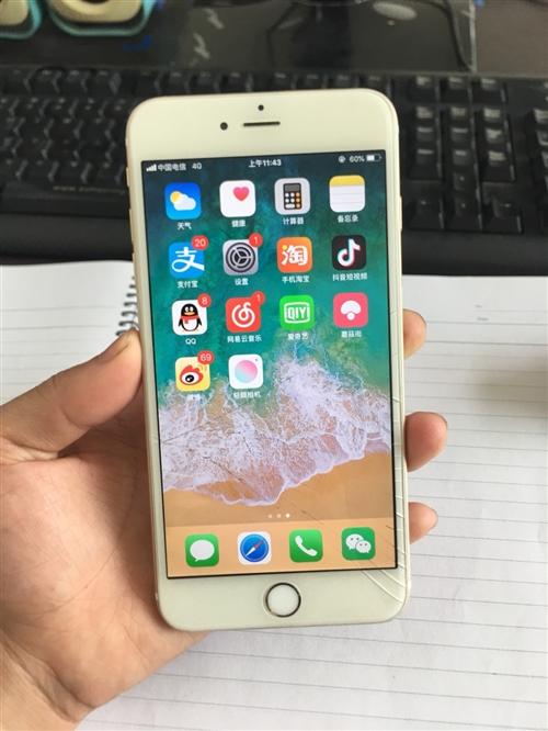 澳门旅游购买的iPhone6plus换了手机低价出售。成色9成新。摄像头有些问题打开拍照会晃动里面的...