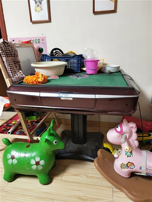 自动麻将桌处理,可以正常使用,家里有两个,这个基本只有逢年过节才用,在家里放着占小孩玩的地方,谁要自...