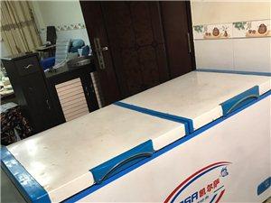 凯尔萨498升冰柜因搬家二手出售,七成新,原价1500元,现500元转让出售,容声冰箱201升,七成...