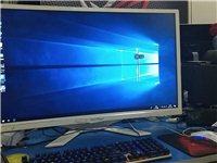 9成新一体机,32寸曲面显示屏,采用台式机配件性能比较好,华硕主板,六代i3,DDR4/8G内存,1...
