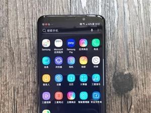 转三星Galaxy S9+全网通 莱茵蓝,出2250元,机子成色很好,保修都在,只出给有意向得朋友,...