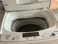 海尔洗衣机 海尔5.5kg洗衣机 海尔8成新洗衣机,用了2年,买来900,现在辞职离开金寨,挥泪低价...