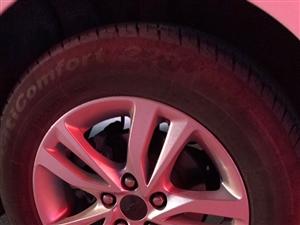 科沃兹自动欣悦款四个轮毂带胎一起出售跑了8000公里无任何磕碰,因改了更大尺寸轮毂