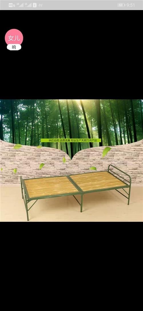 折叠床共5张,家用或者托管午休均可!全新未使用