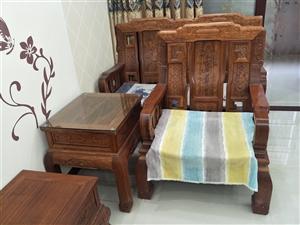 出售一套红木家具一套,非诚勿扰